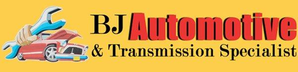 BJ Automotive & Transmission Specialist Logo